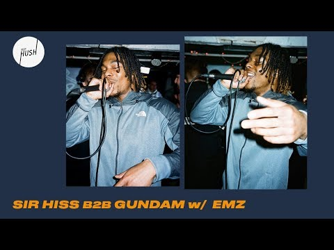 Sir Hiss b2b Gundam w/ Emz DJ set | Keep Hush Live: New World Audio