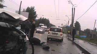 Крупная Авария в Екатеринбурге 17 07 2015 (17 июля ДТП)