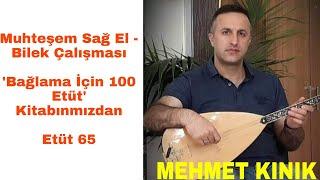 Mehmet KINIK - Uzun Sap Bağlama Sağ El Bilek Egzersizleri (Etüt 65)