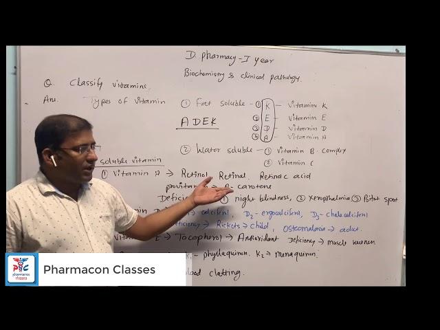 Vitamins Part-1 | Bio-Chemistry
