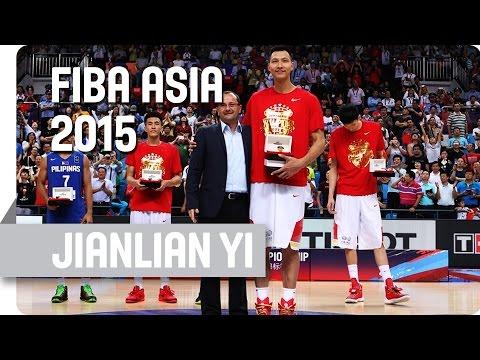 Jianlian Yi (China) - MVP - 2015 FIBA Asia Championship