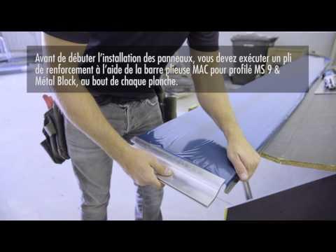 Préparation, Versa (MS 9) ou Metal Block, FR