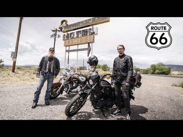 Путешествие с Американцем по США на Харлеях / Дорога 66 / Настоящие приключения GoodDAY