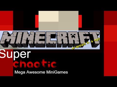 Super Awesome Mega Mini Games! Minecraft Project