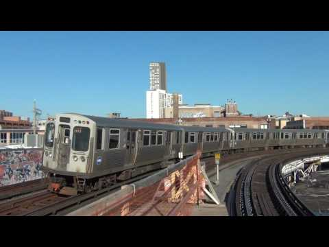 CTA Red Line at Sheridan in Chicago, IL