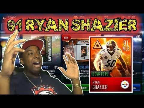RIPPING OPEN 3 BUNDLES!!! MASSIVE MADDEN MOBILE 18 POWERLINE PACK OPENING!!!