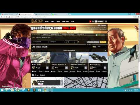w to download costom jobs from rockstar to your xbox
