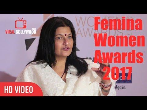 Kamal Haasan Wife Sarika At Femina Women Awards 2017   Femina 2017