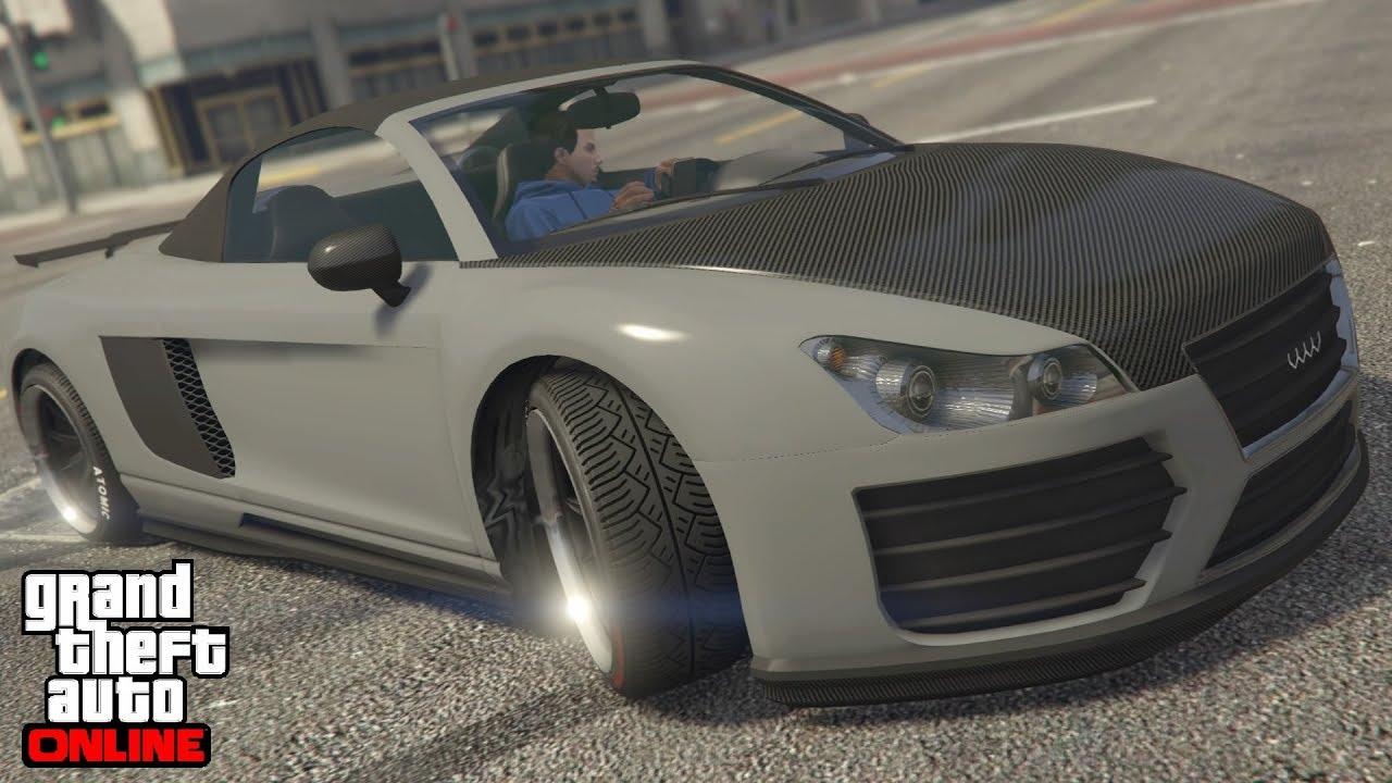 GTA 5 Online I RARE I Audi Color I Nardo Grey I MODDED CREW COLOR