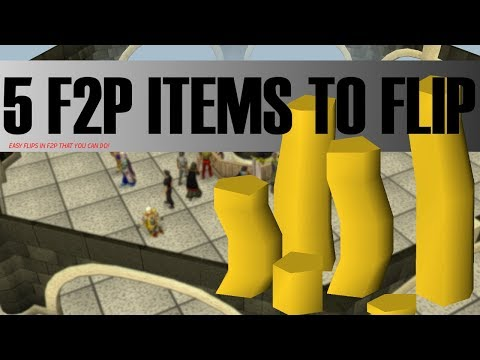 OSRS Money Making Guide: Top 5 F2P Items You Should Flip in OSRS
