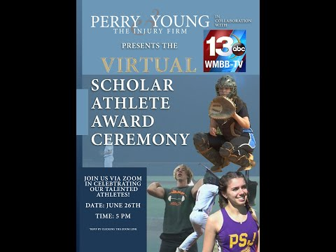 Scholar Athlete of the Year Award Ceremony Hosted by WMBB-News 13 and Perry & Young Injury Law Firm