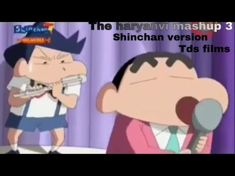 The Haryanvi Mashup 3 -Shinchan Version | Lokesh Gurjar | Gurmeet Bhadana | Desi King | Tds Films