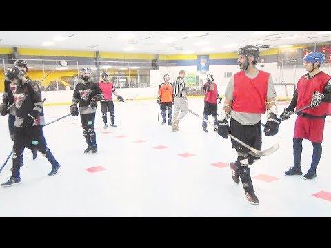 Marauders vs. Surrey Thrashers (11/18/17) Ball Hockey