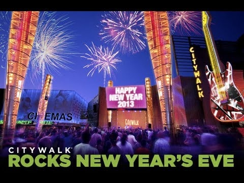 Universal Studios New Years Eve