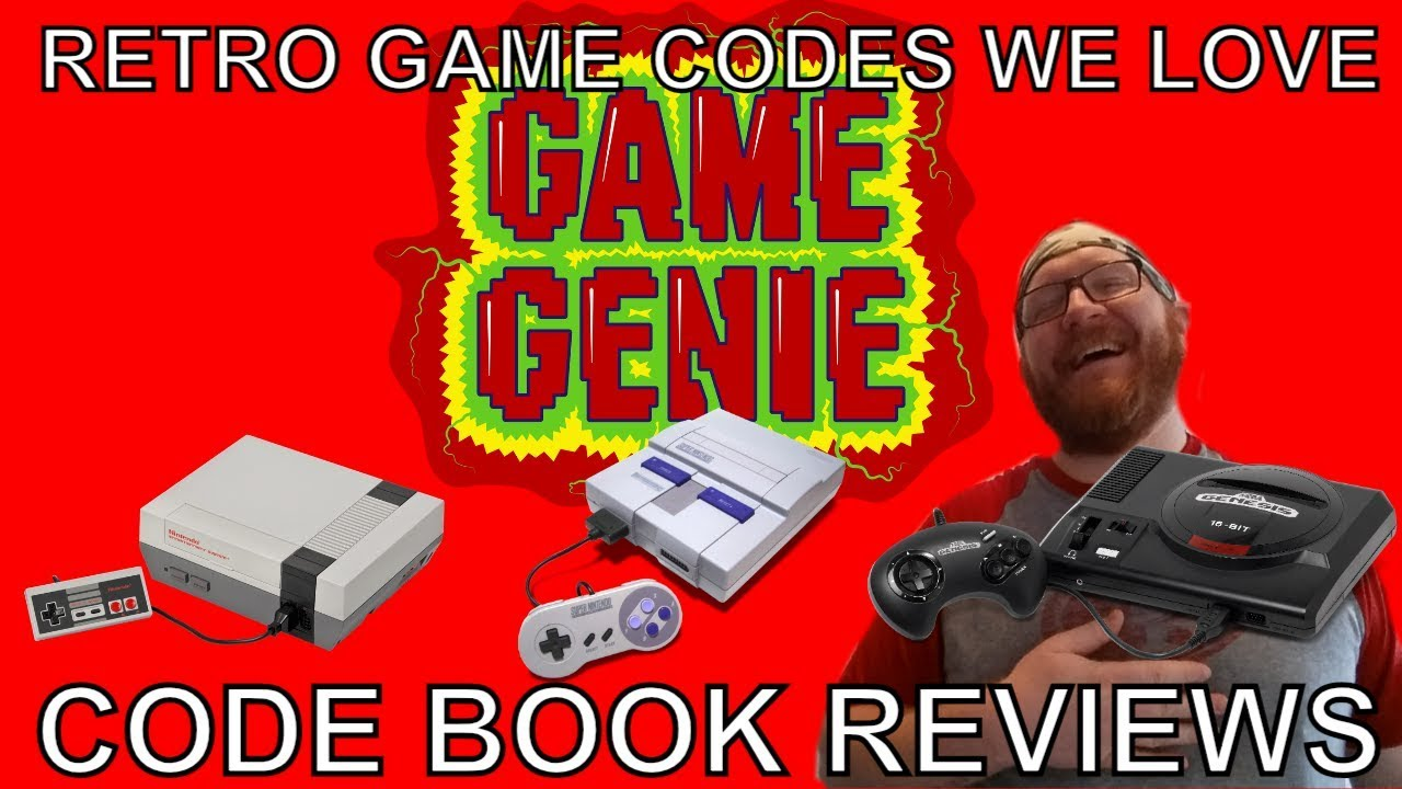 Genie book game nes code