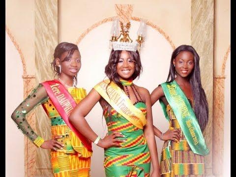 Nayla crowned Miss Ghana France 2013