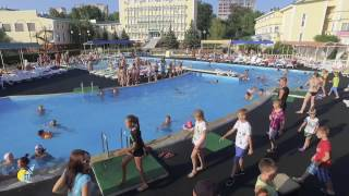видео «Парус» санаторий. Ялта, курорт. Цены на 2017