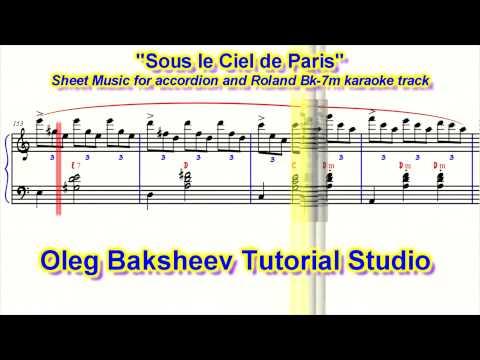 Under Paris Skies or Sous le Ciel de Paris accordion PRO review