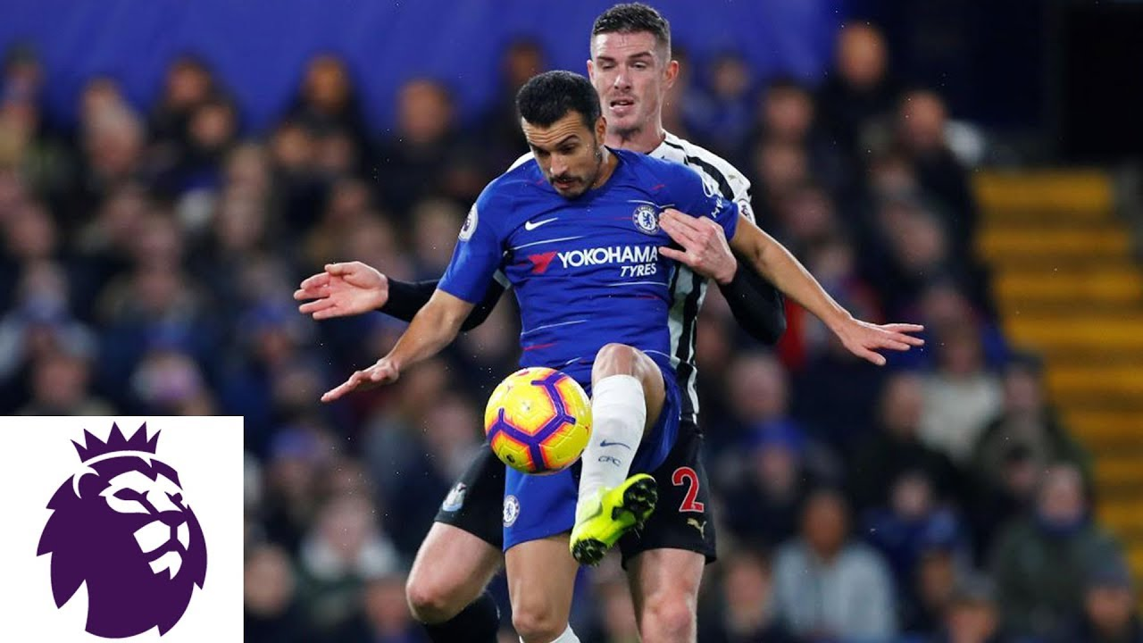 David Luiz finds Pedro for Chelsea's opening goal | Premier League | NBC Sports