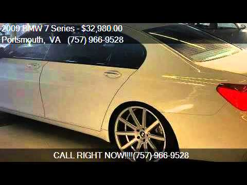 BMW Series Li Dr Sedan For Sale In Portsmouth VA YouTube - Bmw 2009 7 series for sale