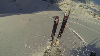 Powder Skiing Val d'Isere GoPro Hero 3 Thumbnail