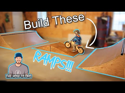 DIY: How To Build a Skate/BMX Mini Ramp Easily Stored