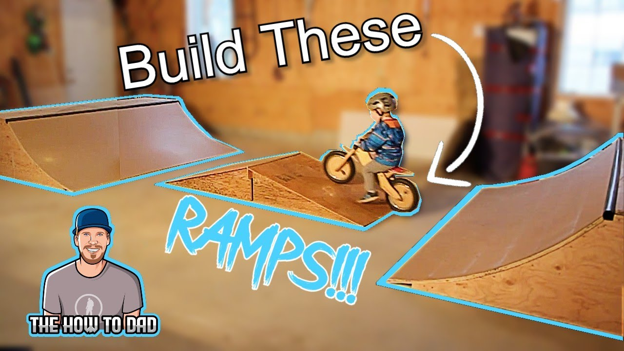 bmx ramps how to build