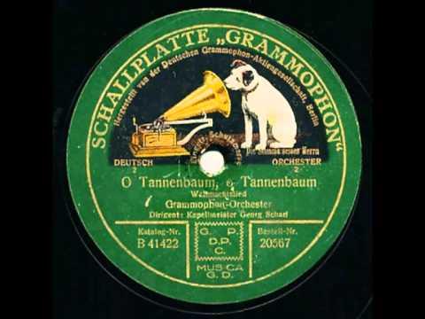 Scharf, Georg und Grammophon-Orchester - O Tannenbaum O Tannenbaum