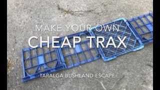 Video How to make Cheap 4x4 Recovery Trax download MP3, 3GP, MP4, WEBM, AVI, FLV Agustus 2018