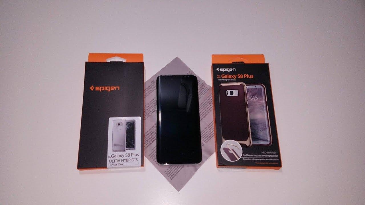 best service ca721 b37ad Spigen Ultra Hybrid S and Spigen Neo Hybrid Case For the Samsung Galaxy S8+