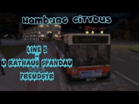 OMSI Bus Simulator - Hamburg Citybus (O405) - Line 5 |