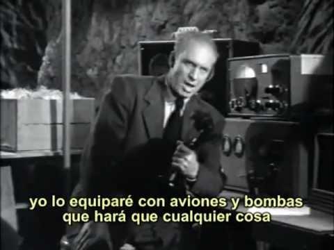 El Invasor Marciano (1950) cap 3 de 12  (sub. español)