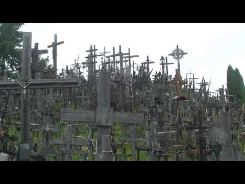 世界の街角から リトアニア 十字架の丘