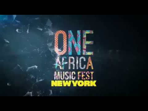 One Africa Music Fest 2018 New York Lineup