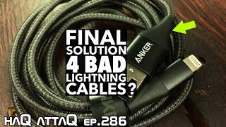 The BEST LIGHTNING Cable Ever? │ Anker Powerline+ II - haQ attaQ 286