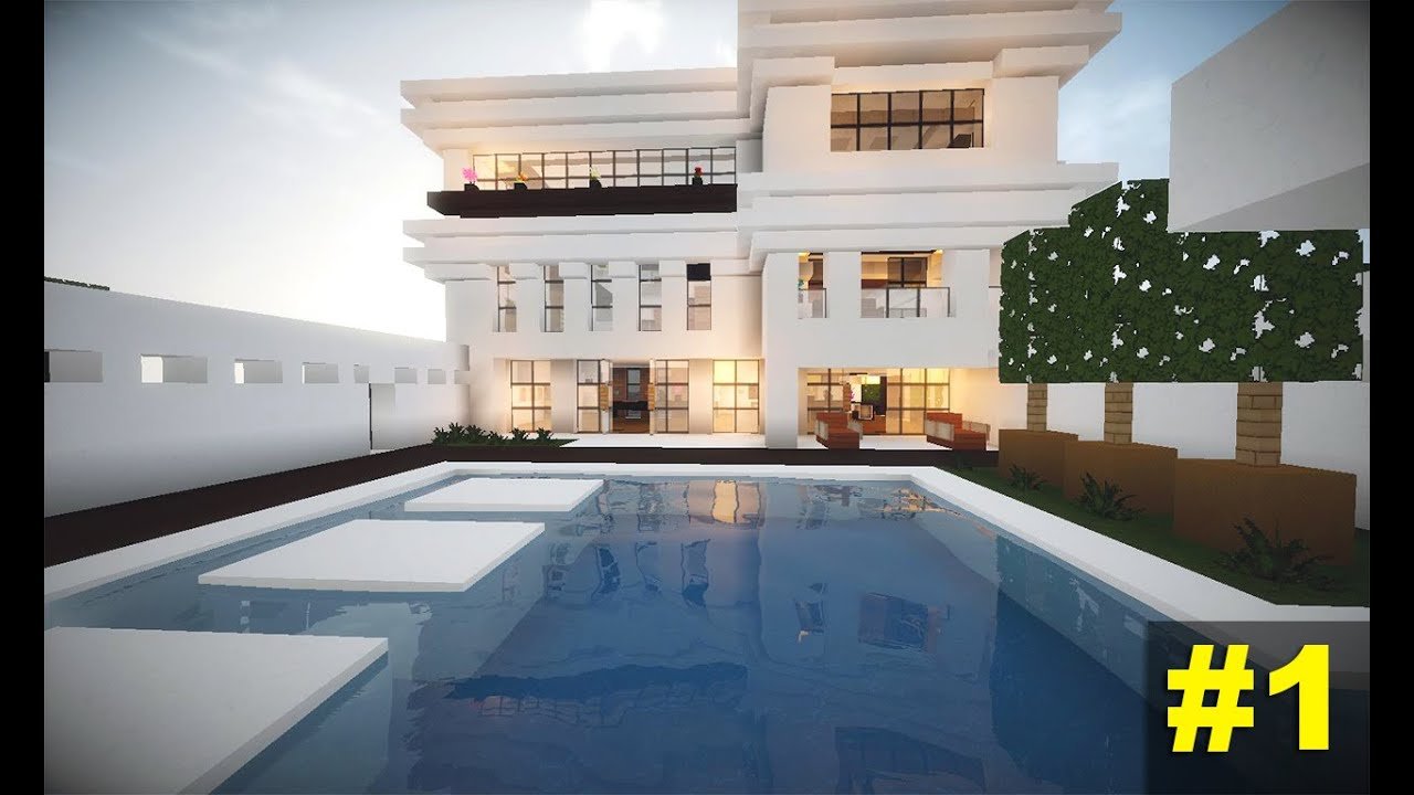 Minecraft Tutorial Casa Moderna 4  Parte 1  YouTube
