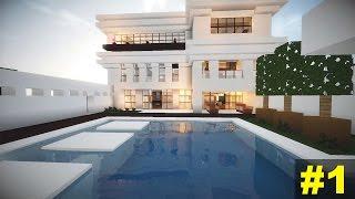 Minecraft Tutorial: Casa Moderna (4) - Parte 1