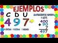 NUMEROS EN UNIDADES, DECENAS Y CENTENAS PARA NIÑOS Matemáticas, Math for kids