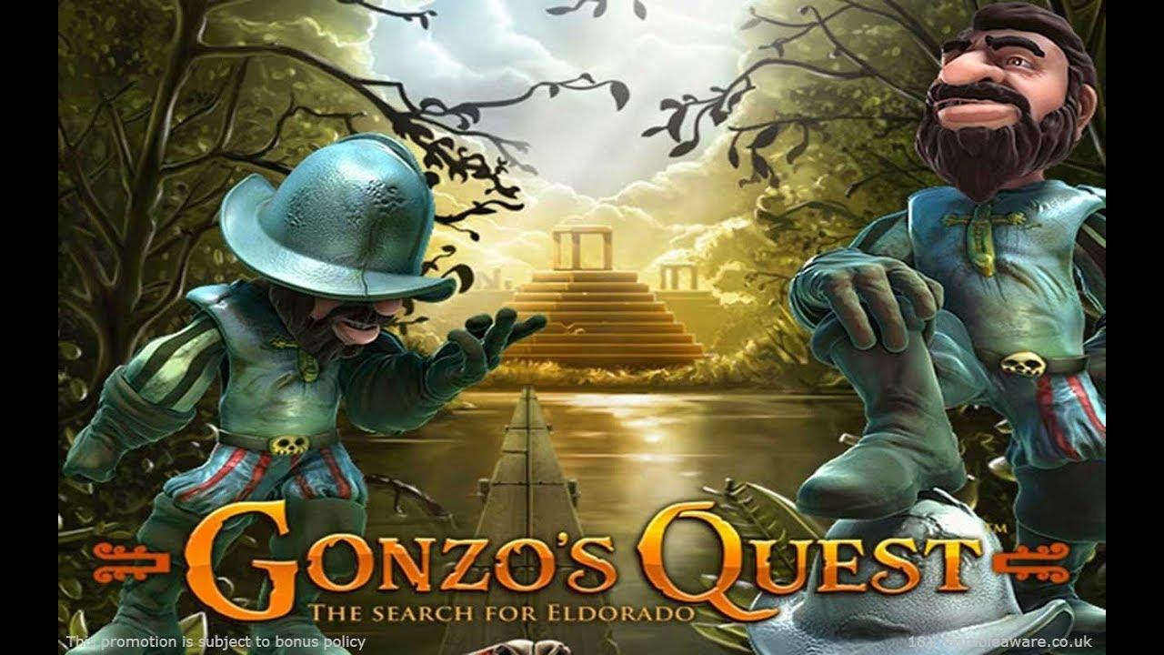 Испанские Путешественники, ищут золото, Игрового Автомата Gonzos Quest от NetEnt!