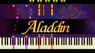 Friend Like Me (Piano) // ALADDIN