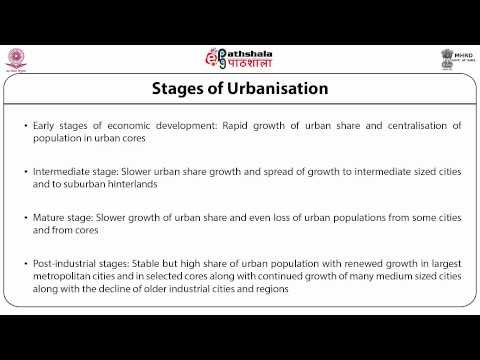 Population and Urbanisation in Developing Countries (POS)