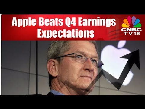 Apple Beats Q4 Earnings Expectations | US Market News | CNBC TV18