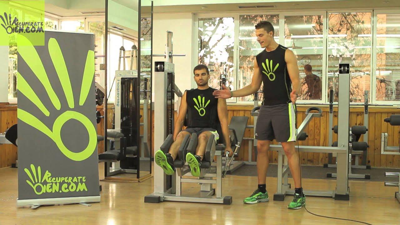118 gym abd abducci n en m quina abd abrir youtube for Maquinas para gym