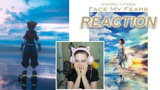 KINGDOM HEARTS 3 OPENING MOVIE TRAILER REACTION W FACE MY FEARS