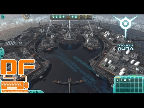 Project Aura -  L'humanité doit survivre dans des villes flottantes || Présentation et gameplay [FR]
