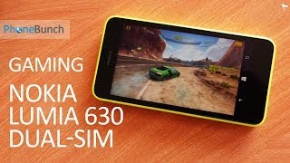 Nokia Lumia 630 Dual SIM Gaming Review