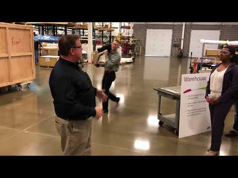 Tour of New EFI Warehouse at New Offices in New Hampshire