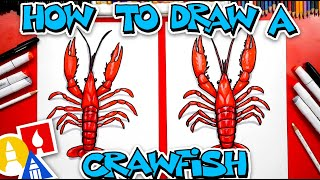 How To Draw A Realistic Crawfish