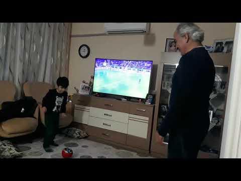 Anıl Ve Dede Futbol Zamanı..