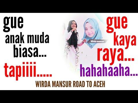 PART 1 Ceramah Lucu Wirda Mansur di Aceh,  HAFIDZ 30 JUZ & KELILING DUNIA HD